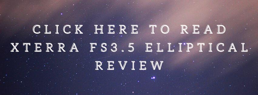 XTERRA FS3.5 Elliptical Review - CTA