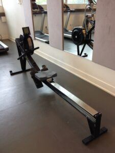 Can Rowing Machines Build Muscle - look from behind