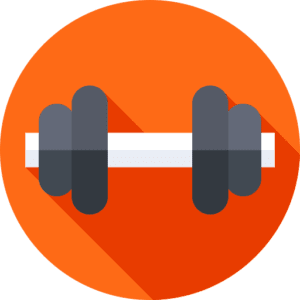the workout equipment