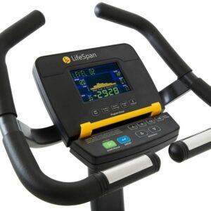 C5I BIKE indoor cycling training schedule - console