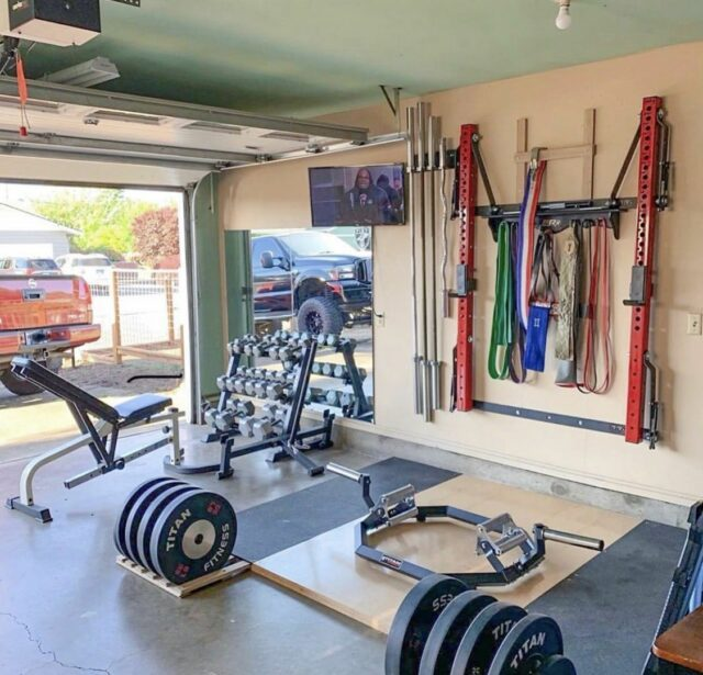 Fitness And Exercise Equipment At Home - featured