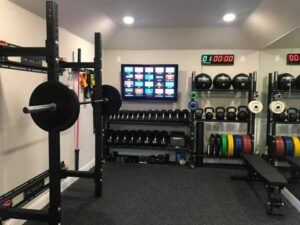 Fitness And Exercise Equipment At Home - basement gym
