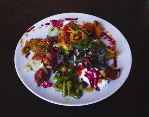 Easy Follow Mediterranean Diet - veggies