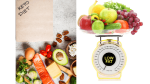Low Carb vs Low Fat - featured
