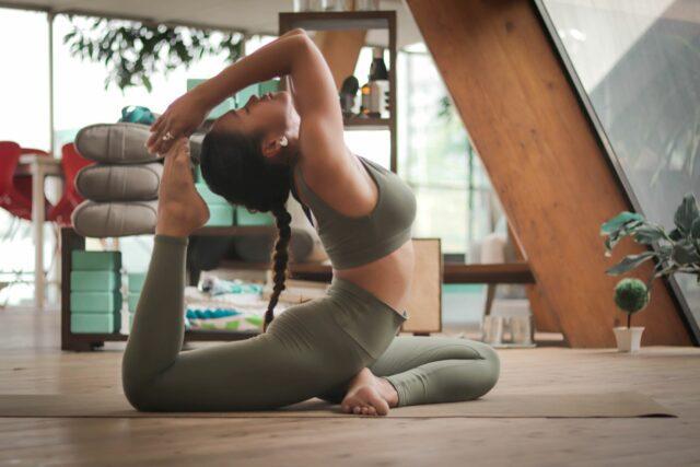Fun Stress Management Exercise - yoga