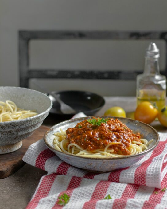 Low Carb vs Low Fat - pasta
