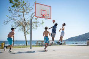 Fun Stress Management Exercise - basketball