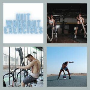 HIIT Workout Exercises - social