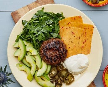 Keto Diet Meals and Recipes - Burger