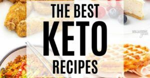 Keto Diet Meals and Recipes - facebook