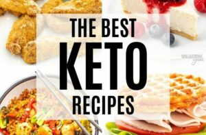 Keto Diet Meals and Recipes - featured