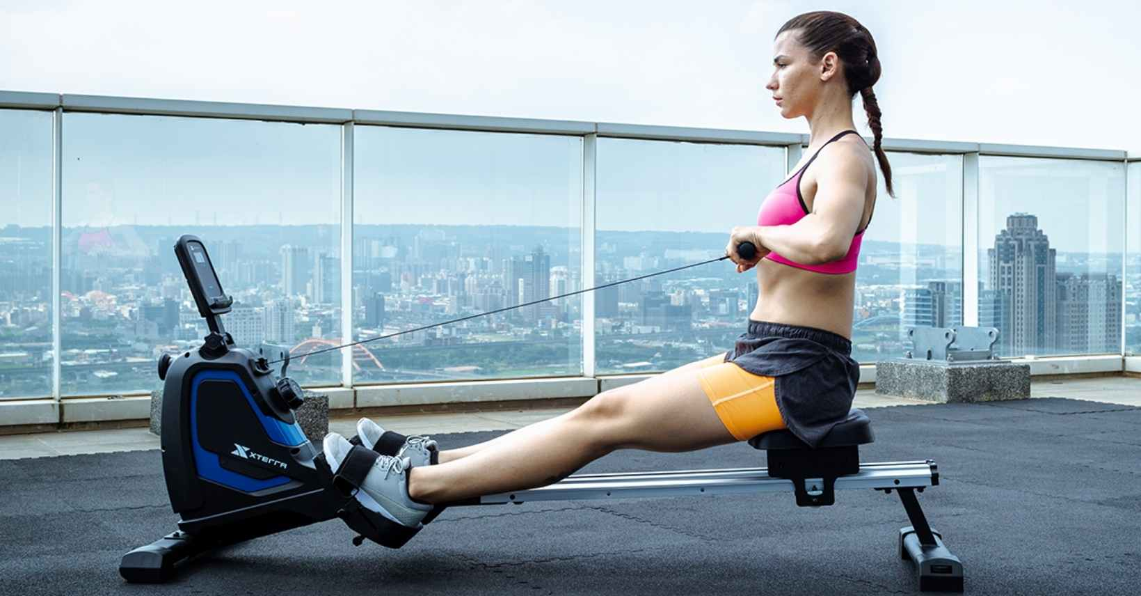 Full Motion Magnetic Rowing Machine - featured