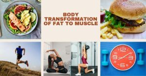 BODY TRANSFORMATION OF FAT TO MUSCLE - social